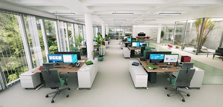 BioTic Orthografische Ansicht Büro