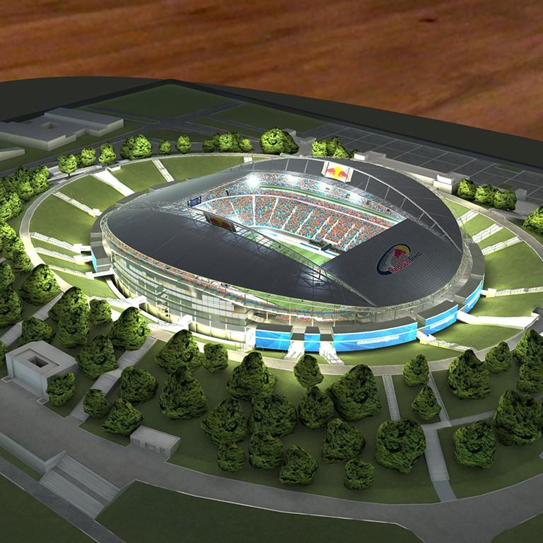 Stadion RB Seitenansicht